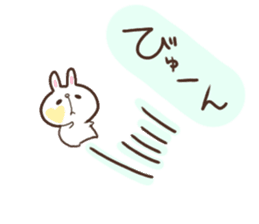 kimamani*usagi sticker #11062796