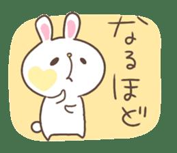 kimamani*usagi sticker #11062804