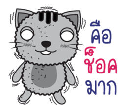 Tikkie Cat sticker #11063170