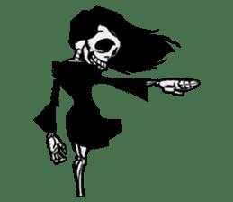 skeleton_girl_2 sticker #11063688