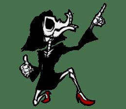 skeleton_girl_2 sticker #11063701