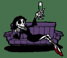 skeleton_girl_2 sticker #11063702