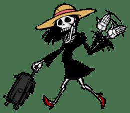 skeleton_girl_2 sticker #11063703