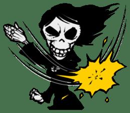 skeleton_girl_2 sticker #11063704