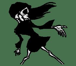 skeleton_girl_2 sticker #11063708