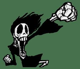 skeleton_girl_2 sticker #11063712