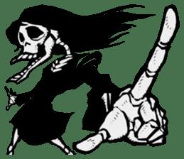 skeleton_girl_2 sticker #11063714