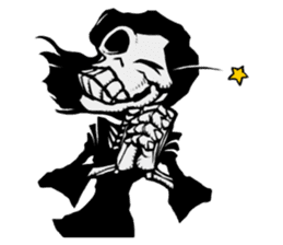 skeleton_girl_2 sticker #11063716