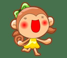 Monkey grumble sticker #11067813