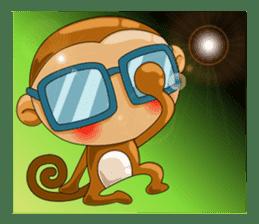 Monkey grumble sticker #11067818