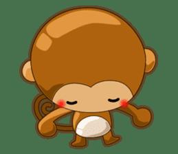Monkey grumble sticker #11067826