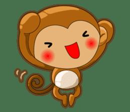 Monkey grumble sticker #11067827