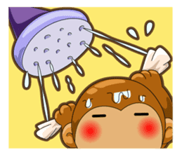 Monkey grumble sticker #11067831