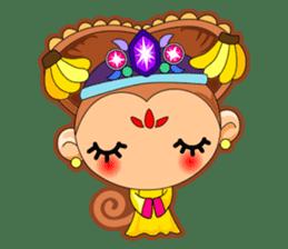 Monkey grumble sticker #11067833