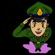 สติ๊กเกอร์ไลน์ เราคือ นชท. นักเรียนช่างฝีมือทหาร 1.0