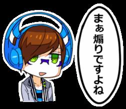 Aun No Futarigumi By Yutchae Sticker