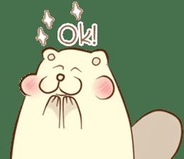 lovely beaver (Eng) sticker #11073113