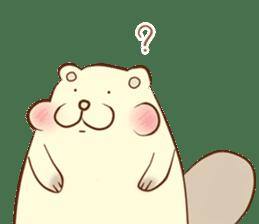 lovely beaver (Eng) sticker #11073115