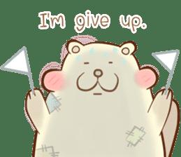 lovely beaver (Eng) sticker #11073120