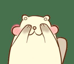 lovely beaver (Eng) sticker #11073124