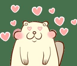 lovely beaver (Eng) sticker #11073125