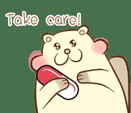 lovely beaver (Eng) sticker #11073129
