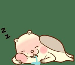 lovely beaver (Eng) sticker #11073130