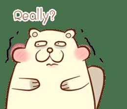 lovely beaver (Eng) sticker #11073131
