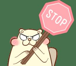 lovely beaver (Eng) sticker #11073141