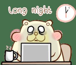 lovely beaver (Eng) sticker #11073145