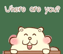 lovely beaver (Eng) sticker #11073146