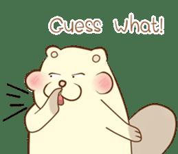 lovely beaver (Eng) sticker #11073147