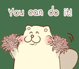 lovely beaver (Eng) sticker #11073148
