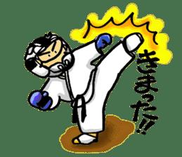KARATE BOY LIFE sticker #11074305
