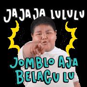สติ๊กเกอร์ไลน์ Bang Ijal: Pantun Fiki