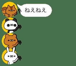 Animals Avatars sticker #11081054
