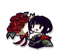 Rose and Mion Stickers sticker #11083436