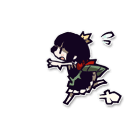 Rose and Mion Stickers sticker #11083463