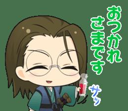 hakuoki otogisoshi sticker sticker #11086900