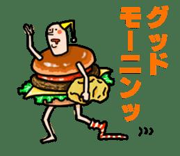 Hamburger Boy sticker #11092602