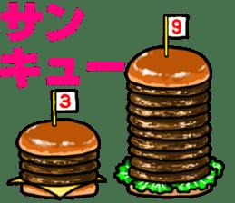 Hamburger Boy sticker #11092606