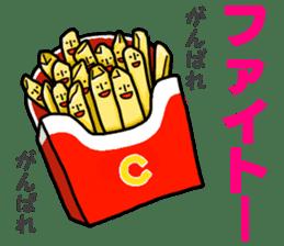 Hamburger Boy sticker #11092608