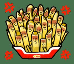 Hamburger Boy sticker #11092611