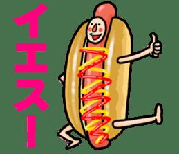 Hamburger Boy sticker #11092612