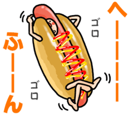 Hamburger Boy sticker #11092614