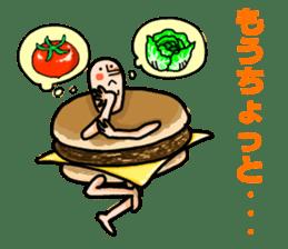 Hamburger Boy sticker #11092618