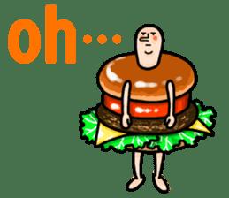 Hamburger Boy sticker #11092620