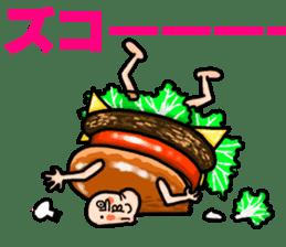 Hamburger Boy sticker #11092621
