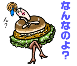 Hamburger Boy sticker #11092624