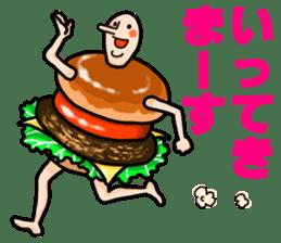 Hamburger Boy sticker #11092632